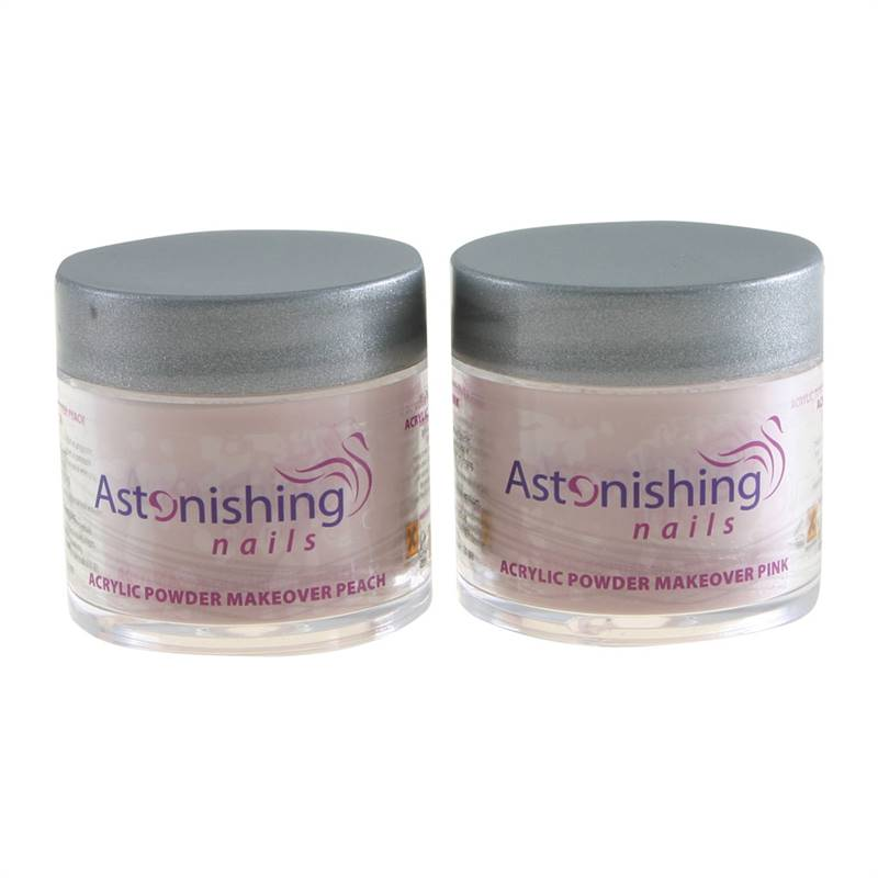 Astonishing Acrylic Powder (Makeover Peach) – Akrila pūderis