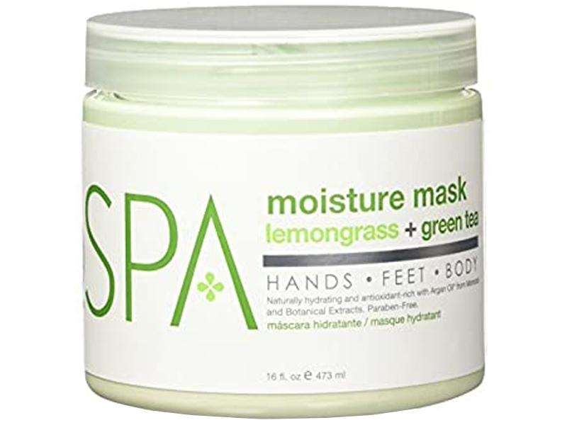 BCL SPA Lemongrass & Green Tea Moisture Mask – Maska rokām un kājām (Citronzāle + Zaļā tēja)