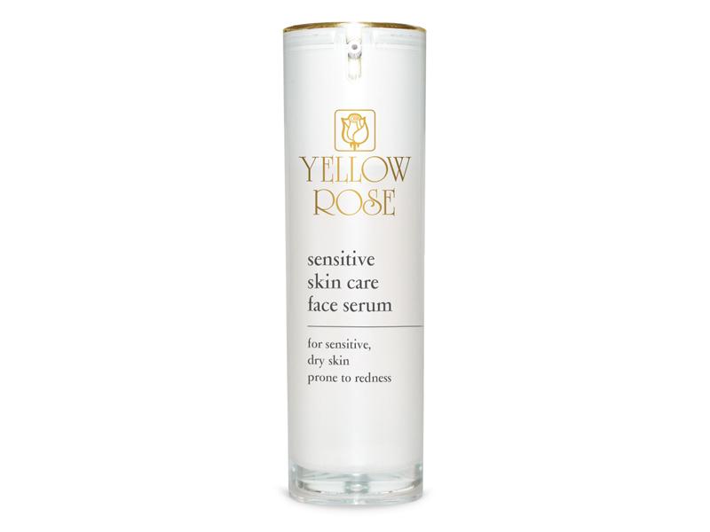 Yellow Rose Sensitive Skin Care Face Serum – Sejas serums jutīgai, sausai ādai ar tieksmi uz apsārtumu