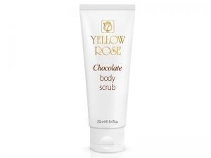 Yellow Rose Chocolate Body Scrub – Шоколадный скраб для тела с натуральным какао