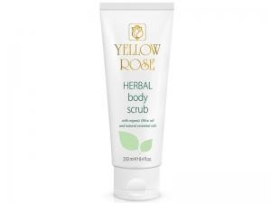 Yellow Rose Herbal Body Scrub – EKO сахарный скраб для тела с цитрусовым ароматом