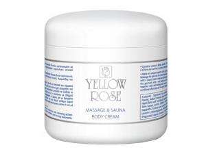 Yellow Rose Massage & Sauna Body Cream – Ķermeņa masāžas krēms (eļļains)
