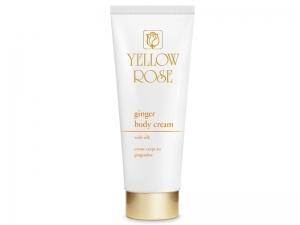 Yellow Rose Ginger Body Cream – Pretcelulīta ķermeņa krēms ar zeltu un zīdu