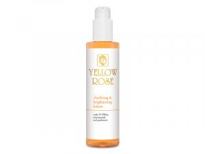 Yellow Rose Clarifying &Brightening Lotion –Maigs eksfoliējošs, mitrinošs un balinošs losjons ar5% PHA, 1% niacinamīdu un prebiotiķiem