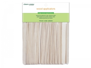 Clean & Easy Wood Applicator Spatulas – Lielās (L) koka spātulas
