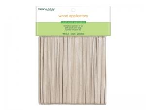 Clean & Easy Wood Applicator Spatulas – Mazās (S) koka spātulas