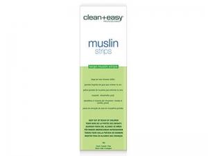 Clean+Easy Muslin Strips – Тканевые полоски Муслин для депиляции