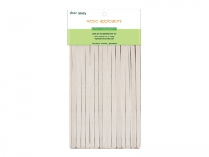 Clean & Easy Wood Applicator Spatulas – Smalkās (XS) koka spātulas