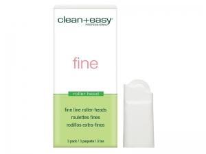Clean & Easy Roller Heads Fine – Plānie rullīši šķidram vaskam