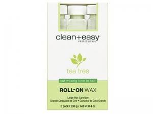 Clean+Easy Tea Tree Wax Refill – Жидкий воск с Чайным деревом в картриджах