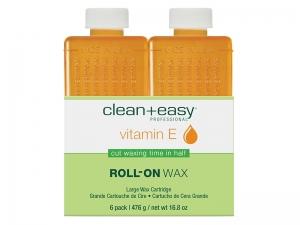 Clean & Easy Vitamin-E Wax Refill – Vitamīna E šķidrā vaska kārtridži