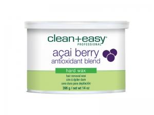 Clean+Easy Acai Berry Full Body Hard Wax – Твердый воск Ягоды пальмы