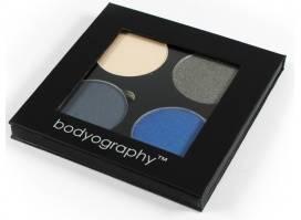 Bodyography Fierce ēnu komplekts - 4 Zilos un Metāliskos toņos