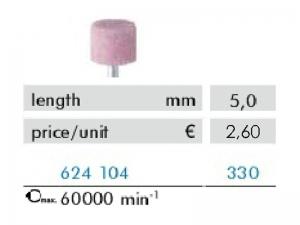 Hadewe Corundum Bur – Korunda urbis (augsti kvalitatīvs) 5,0mm