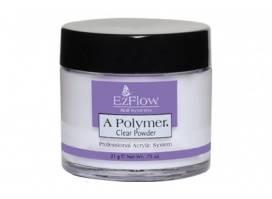 EzFlow Polymer Powder (Clear) – Akrila pūderis (caurspīdīgs)