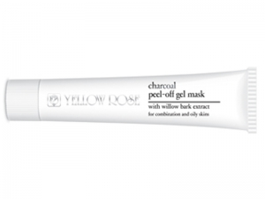 Yellow Rose Charcoal Peel-Off Gel Mask – Gēlveida plastificējoša maska ar bambusa ogli