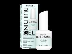 IBD Building Gel (Clear) – Struktūrgēls ar otiņu (caurspīdīgs)