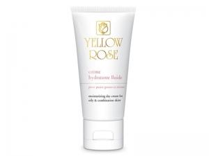Yellow Rose Creme Hydratante Fuide  Увлажняющий флюид для жирной и комбинированной кожи