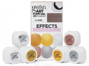 "Gelish Art Form Gel ""Effects"" Collection – ""Efektu"" kolekcija dizainam"