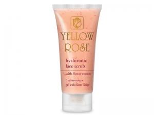 Yellow Rose Hyaluronic Face Scrub Скраб для лица с гиалуроновой кислотой и экстрактами цветов