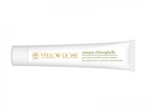 Yellow Rose Masque au Chlorophylle – Maska ar hlorofilu kombinētai ādai