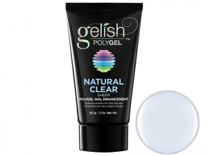 Gelish Polygel (Natural Clear) – Гель-паста для укрепления и моделирования ногтей