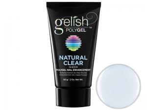 Gelish Polygel (Natural Clear) – Gēlveida pasta nagu stiprināšanai un pagarināšanai