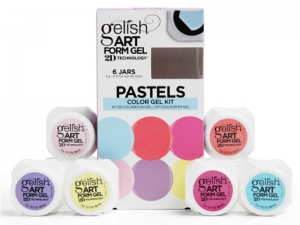 "Gelish Art Form Gel ""Pastels"" Collection – ""Pasteļtoņu"" kolekcija dizainam"