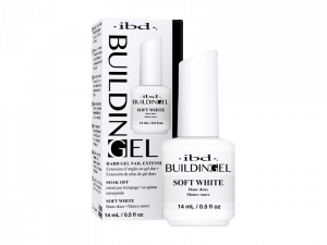 IBD Building Gel (Soft White) – Struktūrgēls ar otiņu (maigi balts)