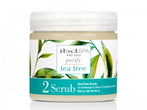 IBD SPA Purify Tea Tree Scrub – Очищающий скраб для стоп и ног с экстрактом Чайного дерева