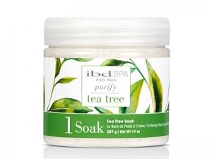 IBD SPA Purify Tea Tree Soak – Очищающая соль для ванночек рук и ног с экстрактом Чайного дерева