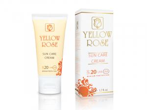 Yellow Rose Sun Care Cream SPF 20 – Saules aizsargkrēms sejai un ķermenim