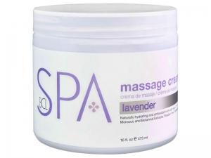 BCL SPA Lavender & Mint Massage Cream – Masāžas krēms rokām un kājām (Lavanda + Piparmētra)