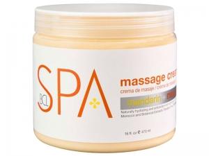 BCL SPA Mandarin & Mango Massage Cream – Masāžas krēms rokām un kājām (Mandarīns + Mango)