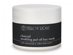 Yellow Rose Charcoal Peel-off – Peel-off Маска для лица с углем Бамбука