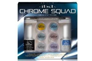 IBD Chrome Effect Powders Chrome Squad – Hroma pūderu komplekts