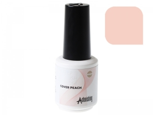 Astonishing 1-Step Brush Builder (Cover Peach) – Bāze, tops, būvējošs gēls vienā flakonā