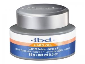 IBD Builder LED/UV Gel (Natural II) – Bēšīgs būvējošs gēls