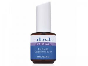IBD UV Top Coat – Ātri žūstošs tops gēla lakām