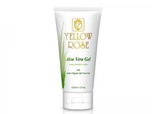 Yellow Rose Aloe Vera Gel – Mitrinošs alvejas gēls-maska sejai un ķermenim