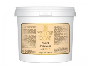 Yellow Rose Ginger Body Peel-off Mask – Антицеллюлитная, пластифицирующая, лифтинг маска с золотом
