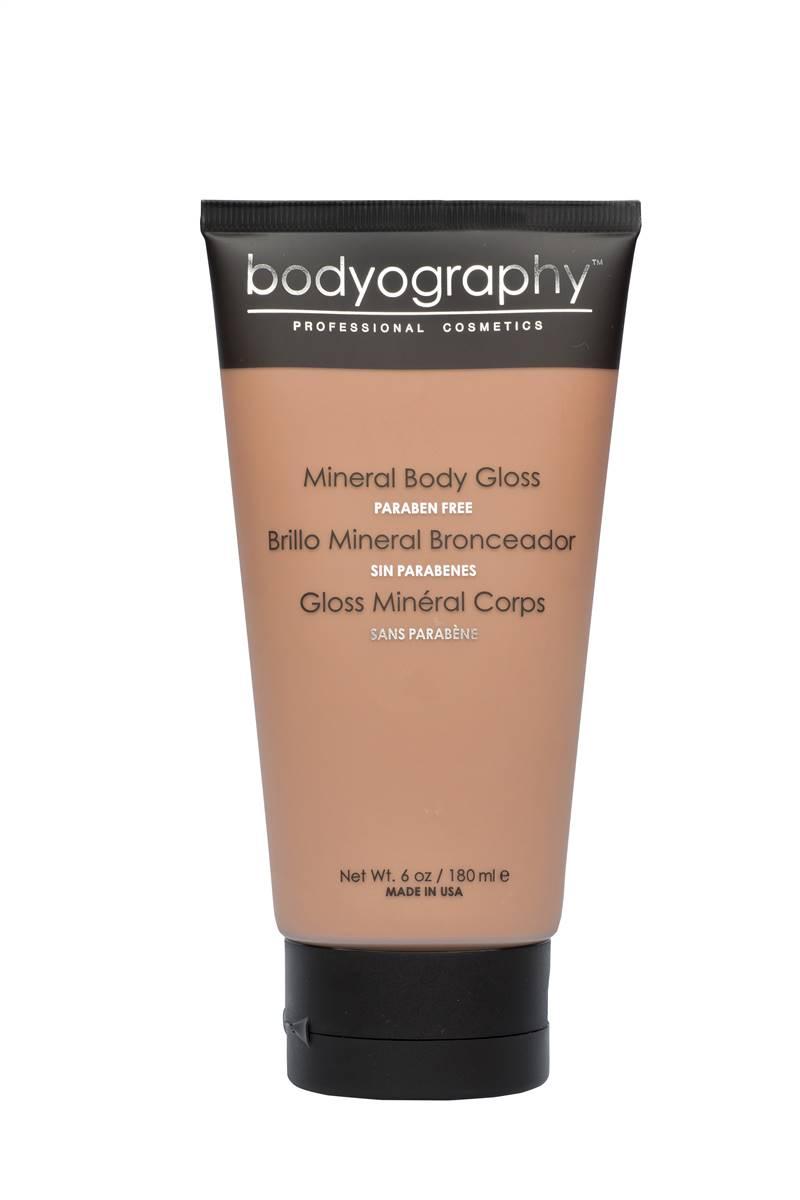 Bodyography Mineral Body Gloss  Водостойкий бронзатор с блеском для тела