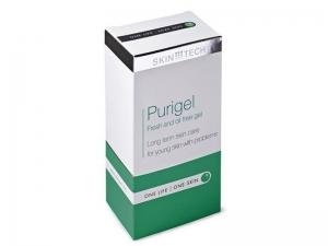 Skin Tech Purigel – Attīrošs, atsvaidzinošs gēls taukainai un problemātiskai ādai