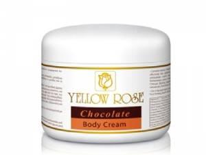 Yellow Rose Chocolate Body Cream – Pretcelulīta šokolādes krēms ķermenim