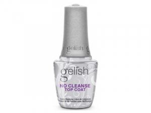 Gelish No Cleanse Top Coat – Tops bez lipīgās kārtas