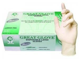 GreatGlove Lateksa cimdi (bez pūdera)