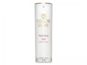 Yellow Rose Red Vine Gel – Izgaismojošs gēls ar sarkanvīna ekstraktu kuperozai ādai